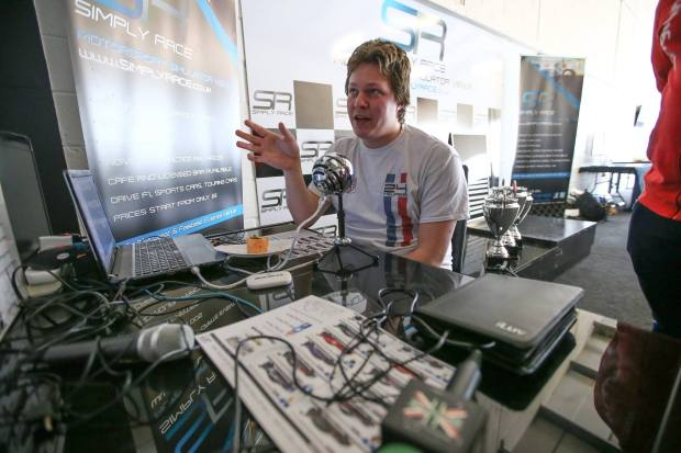 Jake Sanson motorsport automotive commentator broadcaster at Great Brirtish Presenters