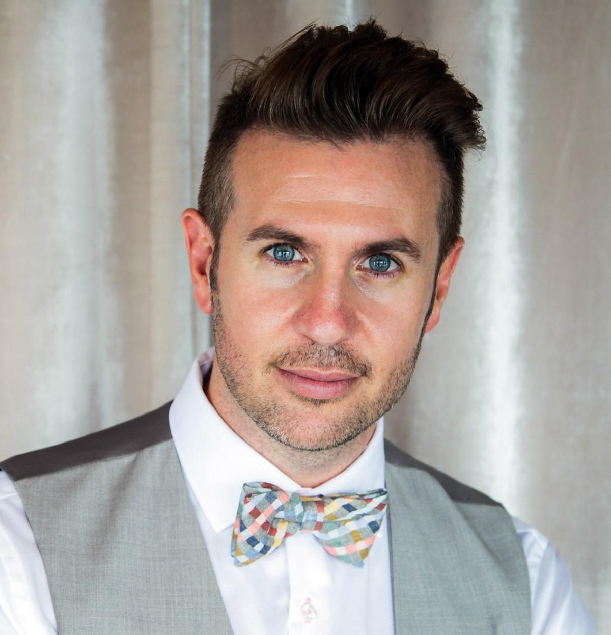 Marc Checkley New Zealand Kiwi TV Video Presenter Wine Expert Travel Speaker host at Great British Presenters