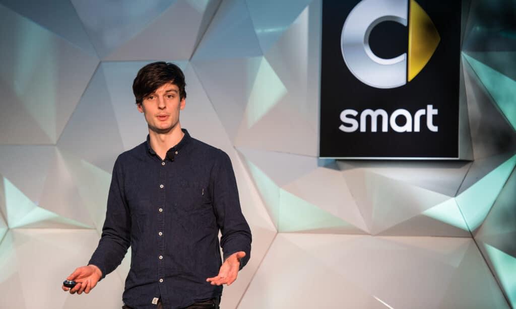 Ed Newton Rex AIi Musician entrepreneur developer STEM speaker at Great British Speakers