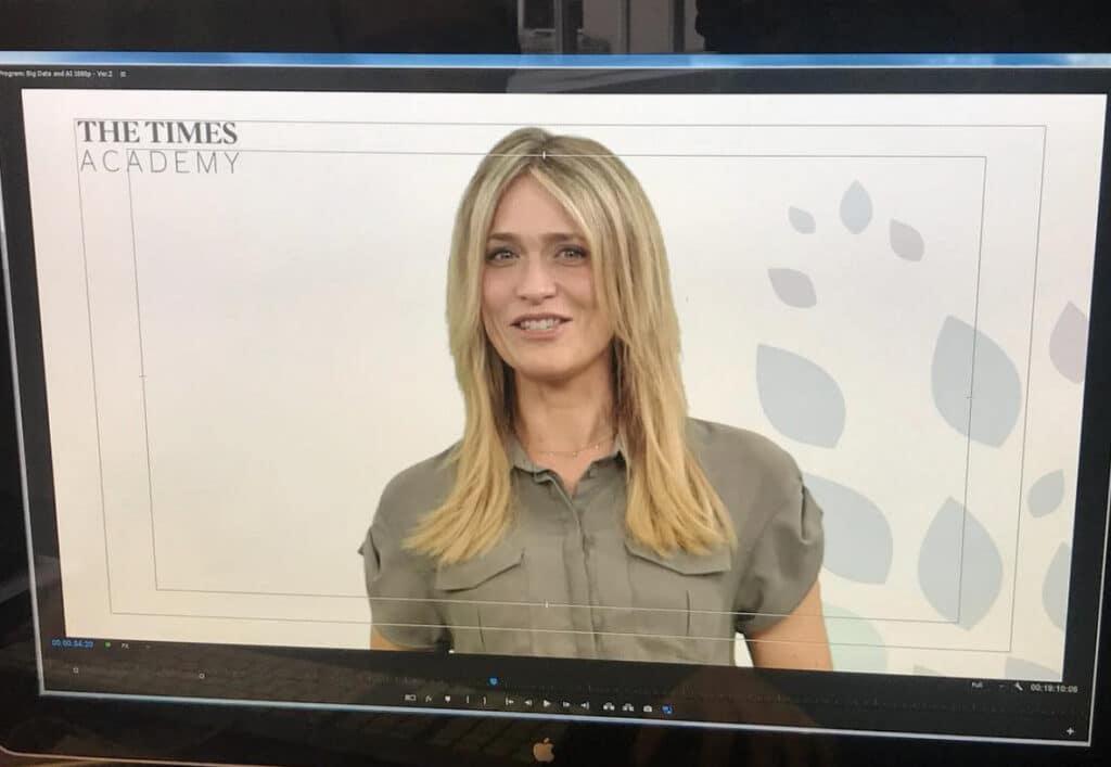 Michelle Female Motorsport Tech TV presenter at Great British Presenters