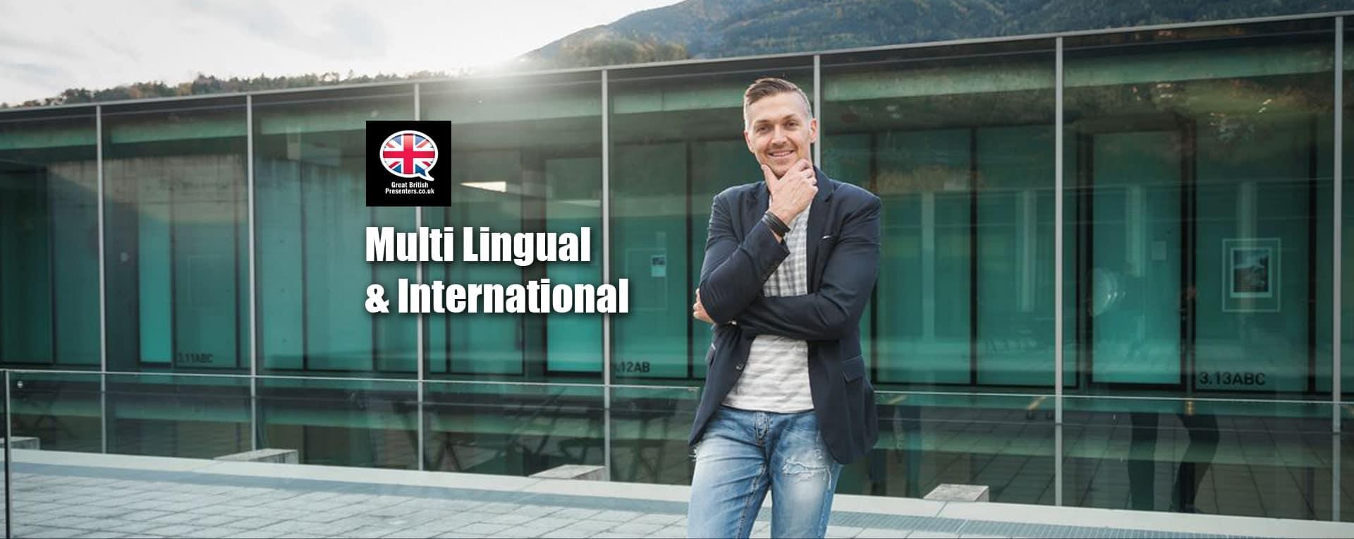 Multi Lingual International language expert hosts media professionals worldwide Europe USA at Great British Presenters-min