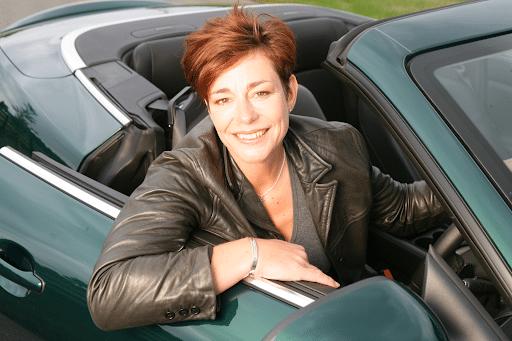 Penny Mallory Automotive presenter at Great British Presenters