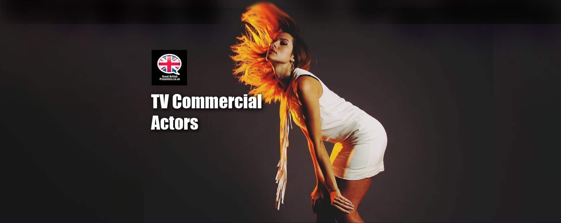 TV Commercial Actors models Youtube presenters Social Media video product demonstrators at Great british Presenters-min