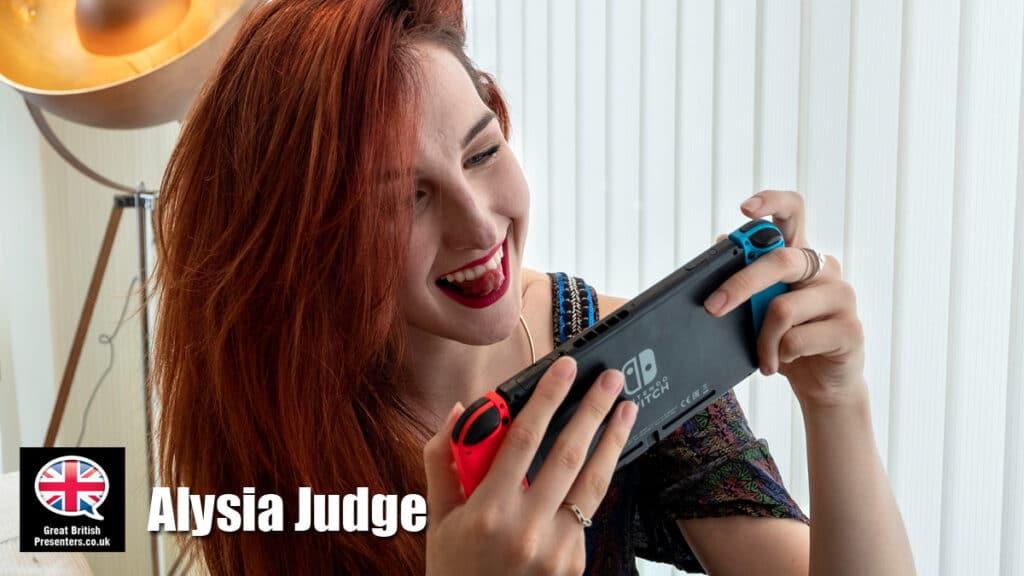 Alysia Judge Gaming tech speaker host presenter journalist at Great British Speakers
