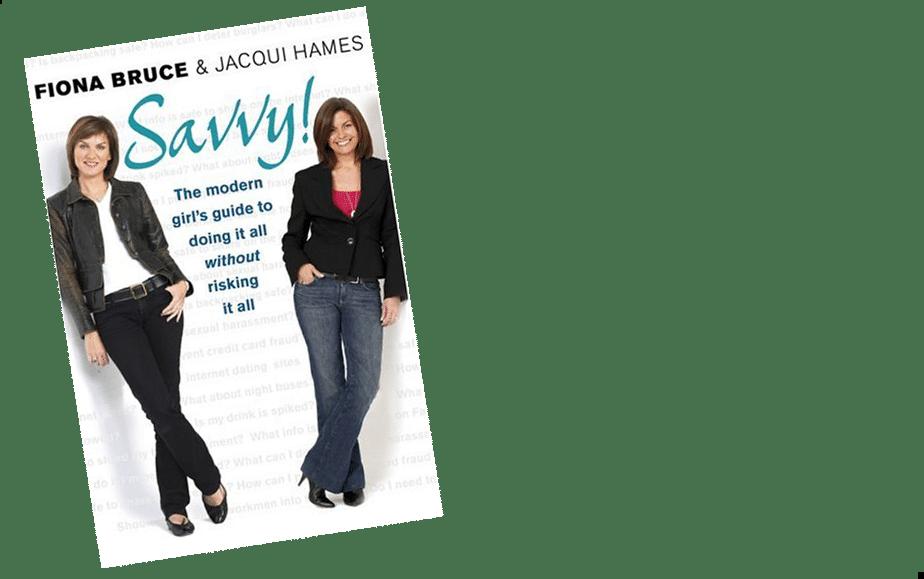 Fiona Bruce and Jaqui Hames Savvy book at Great British Spekaers