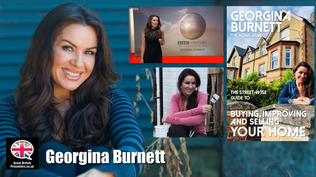 Georgina Burnett DIY interiors weather Presenter This Morning BBC property developer at Great British Presenters