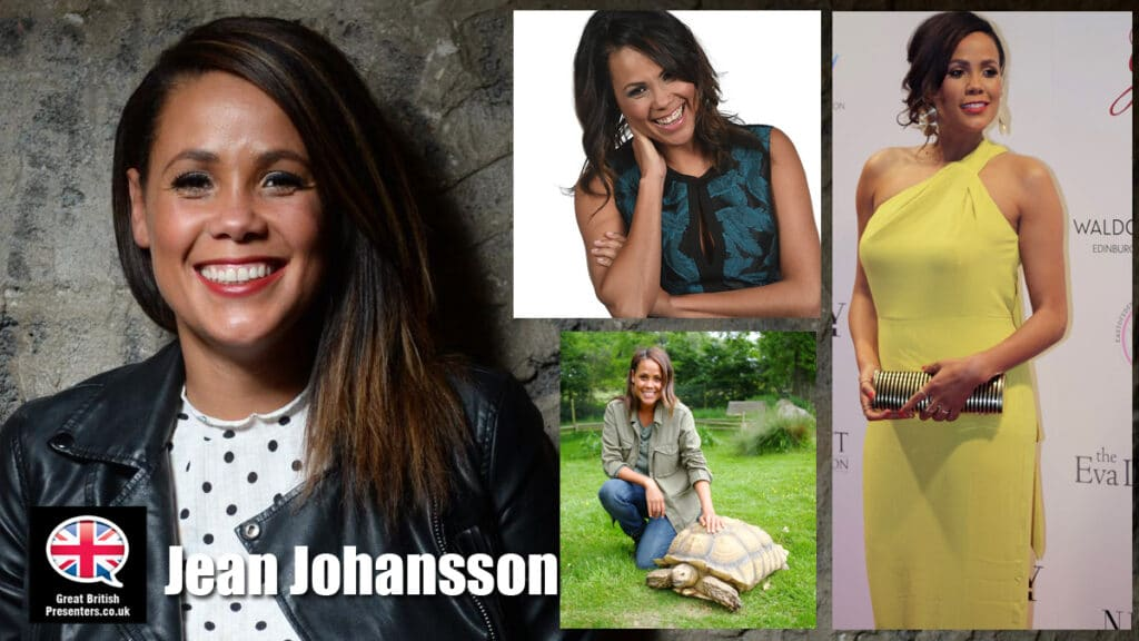 Jean Johansson Scottish TV Presenter place in the sun travel property host Great British Presenters