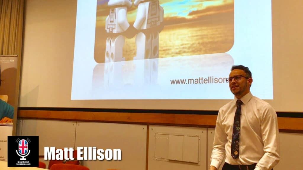 Matt Ellison transgender trans Gender Recognition speaker at Great British Speakers