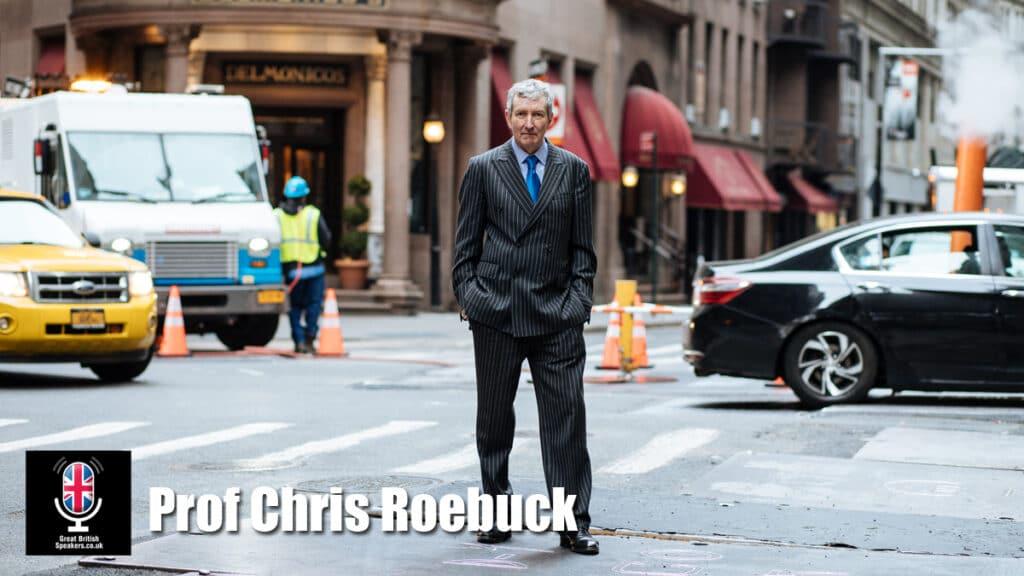 Prof Chris Roebuck Corporate Governmental Military leadership Thought leader keynote speaker at Great British Speakers