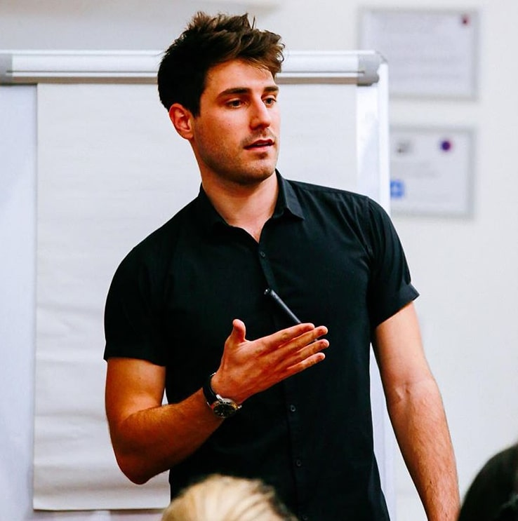 Sam Jones Millennial Gen Z Life Coach Motivational Speaker at Great British Speakers