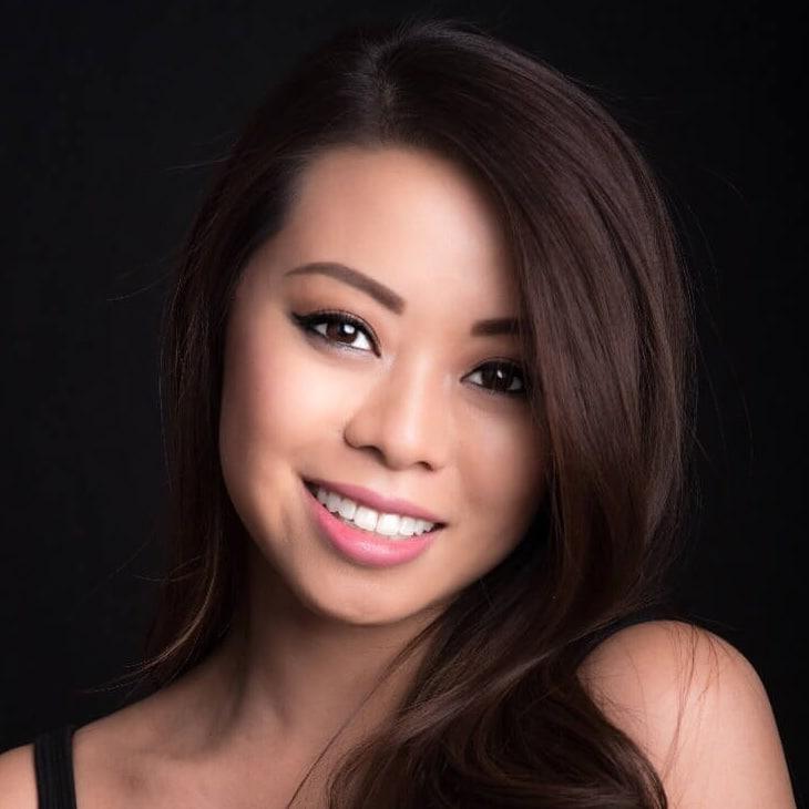 Priscilla Fung- English Chinese Cantonese presenter model book at agent Great Brirtish Presenters