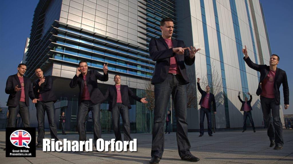 Richard Orford SKY Poker TV Video Presenter live host at Great British Presenters
