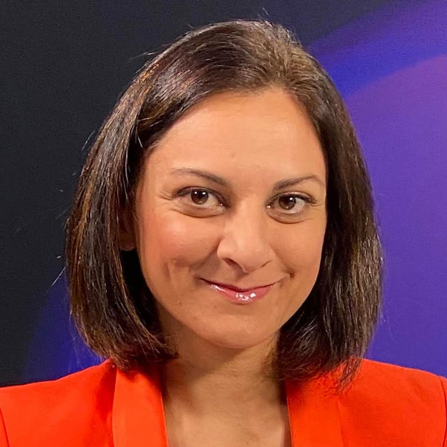 Sasha Qadri - Bloomberg SKY technology digital sustainability moderator host chair book at Great British Speakers